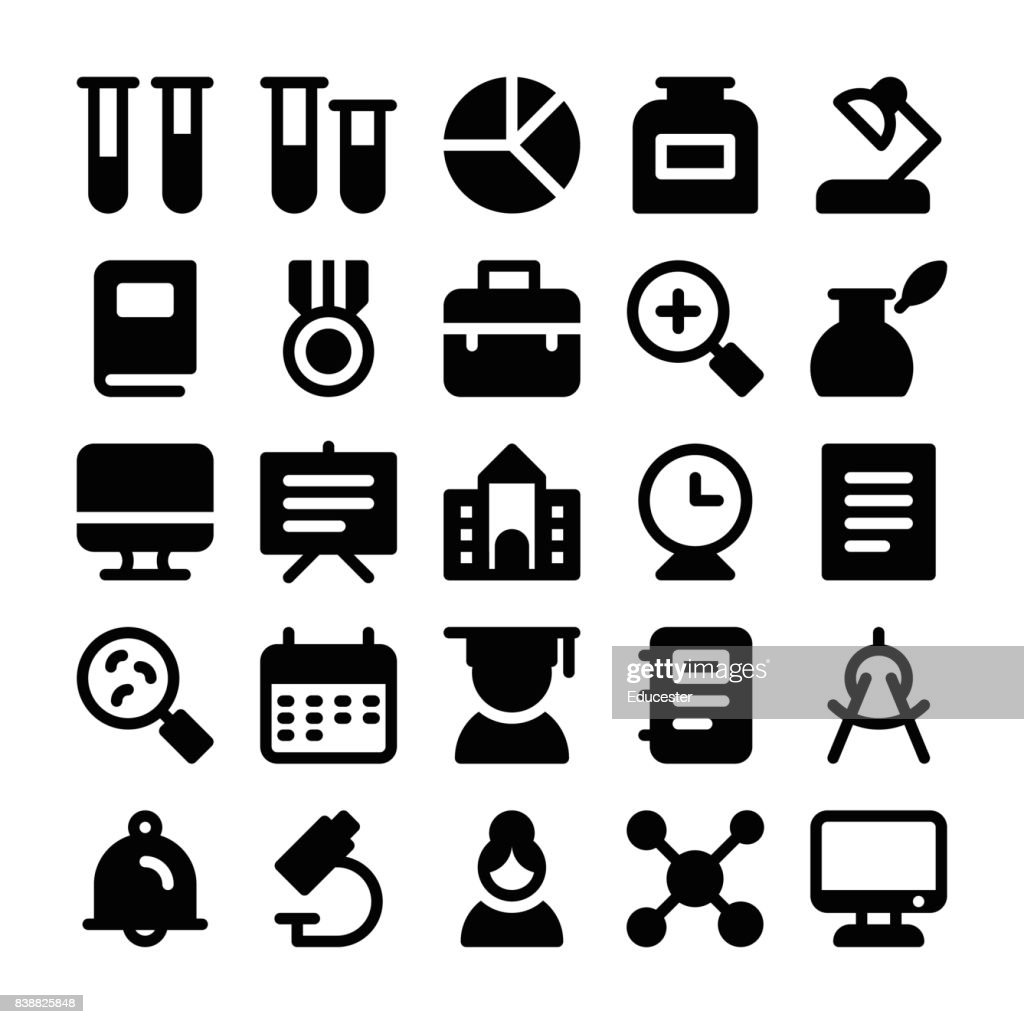 Education Solid Icons 2