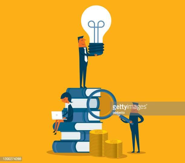 education stock - brainstorming stock illustrations