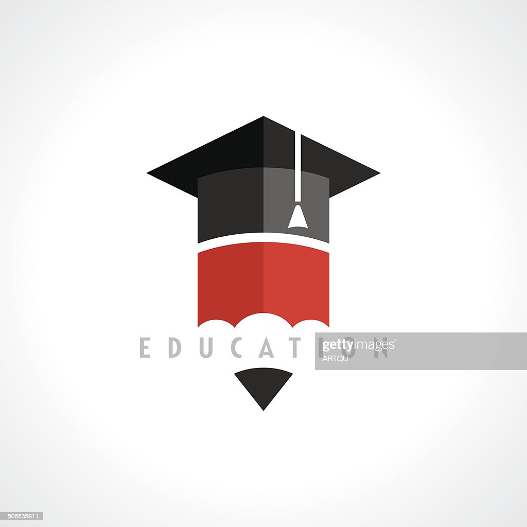 Education symbol concept, vector