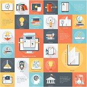 Education Theme Stylish, minimal and fully editable vector icon