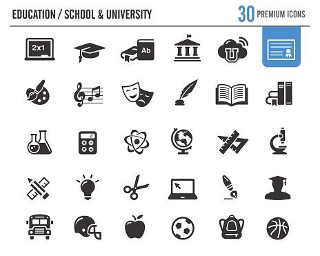 Education Vector Icons // Premium Series - gettyimageskorea