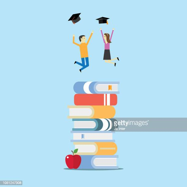 education - bookstand stock illustrations, clip art, cartoons, & icons