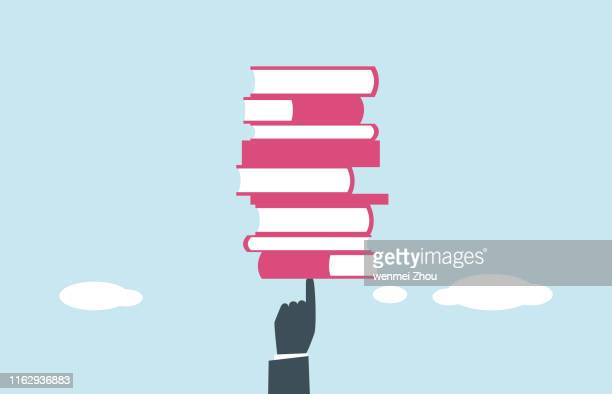 education - book stock illustrations