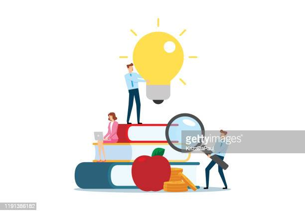 education - ideas stock illustrations