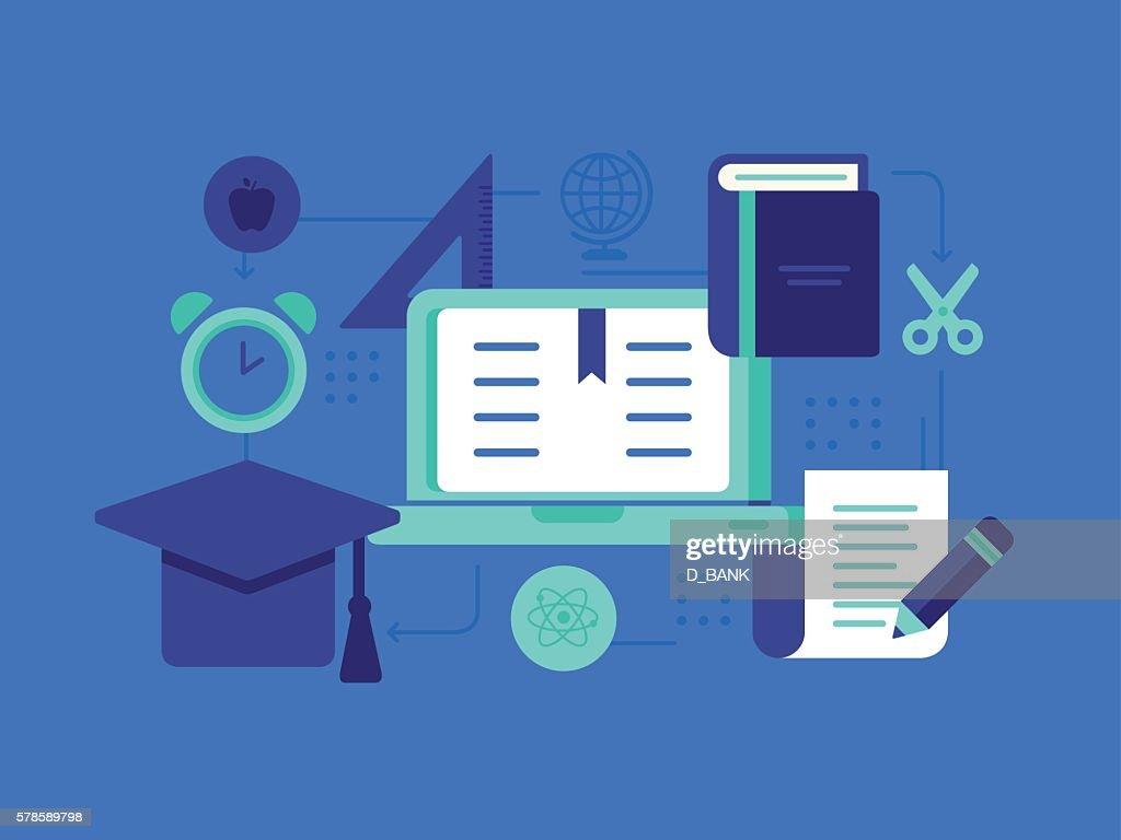 Education : stock illustration