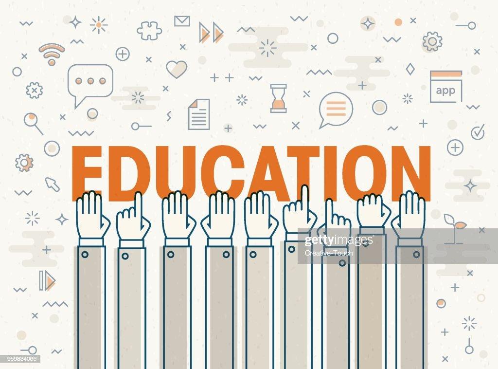 Bildung : Stock-Illustration