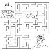 Educational maze game for children.