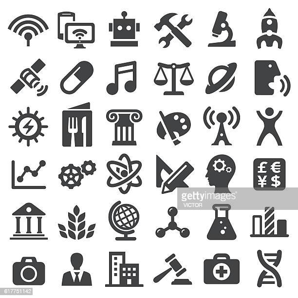 Educational Subjects Icons - Big Series