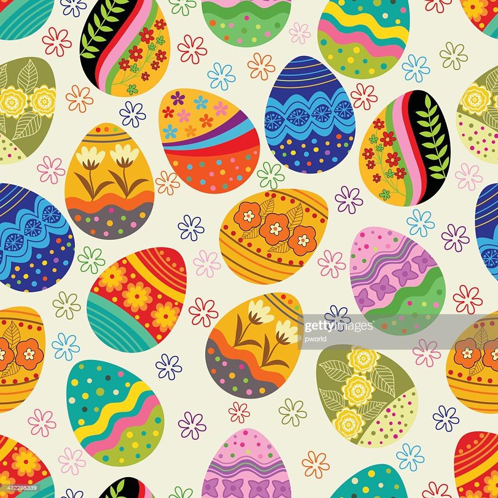 Egg pattern . : Vector Art