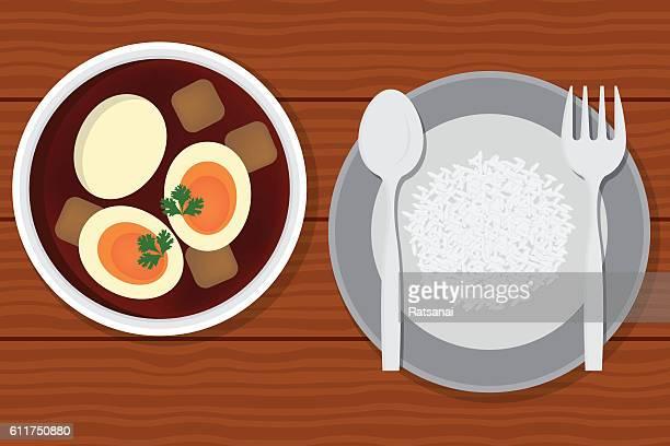 eggs Stewed