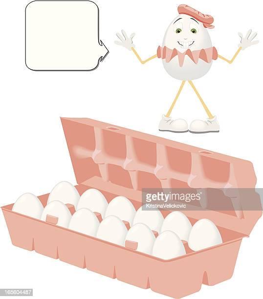 ilustrações, clipart, desenhos animados e ícones de ovos - embalagem cartonada