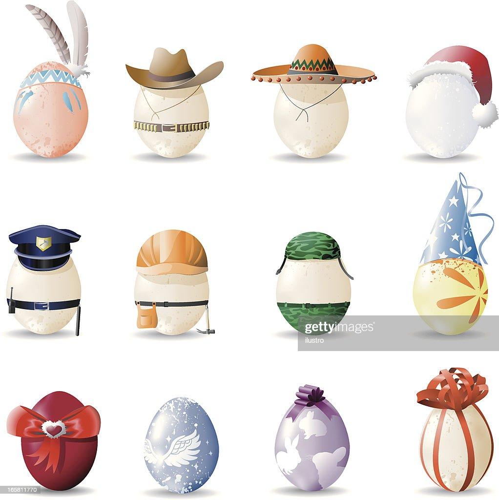 Eggs : Stock Illustration