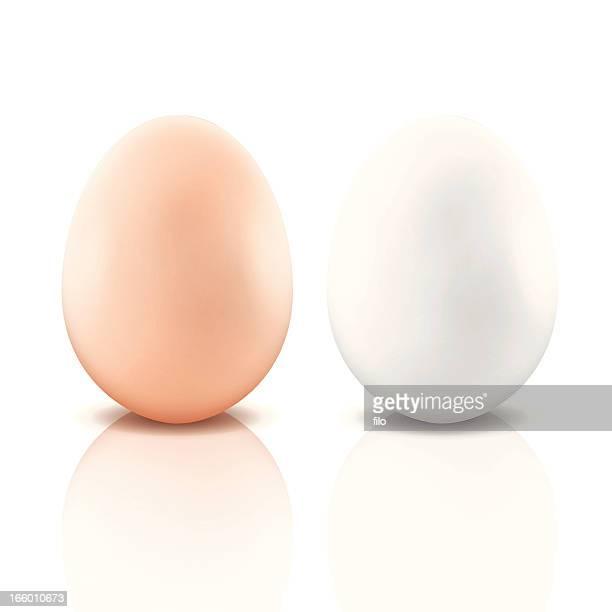 ilustraciones, imágenes clip art, dibujos animados e iconos de stock de huevos - huevo comida básica