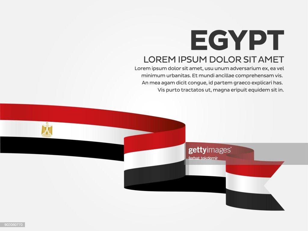 Egypt flag background