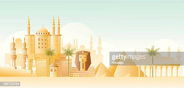 ilustrações, clipart, desenhos animados e ícones de o cenário egito - cultura egípcia