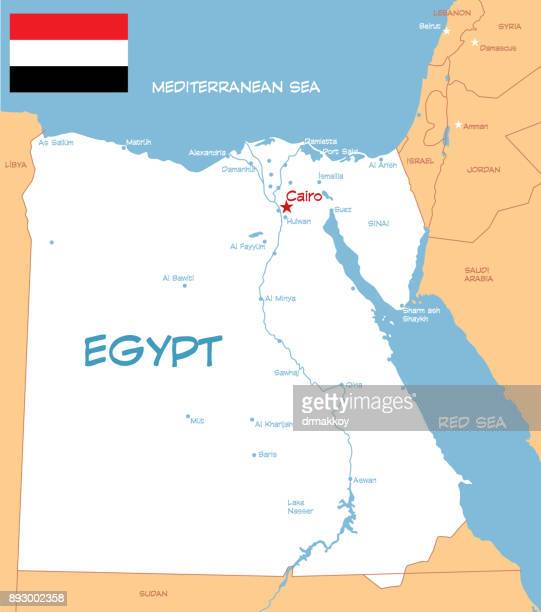 egypt - nile river stock illustrations, clip art, cartoons, & icons