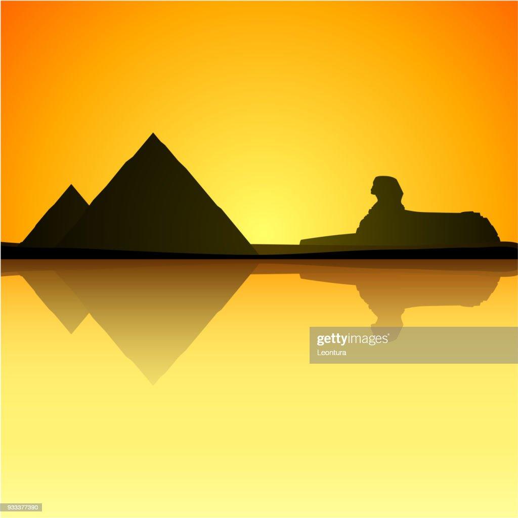 Egypt : stock illustration