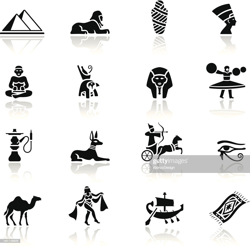 Egyptian Icon Set