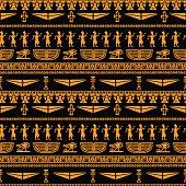 Egyptian seamless pattern