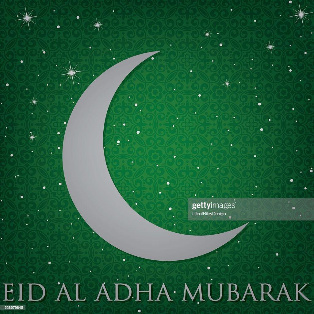 """""""Eid Al Adha Mubarak"""" (Blessed Eid Al Adha) card"""