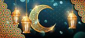Eid mubarak banner design