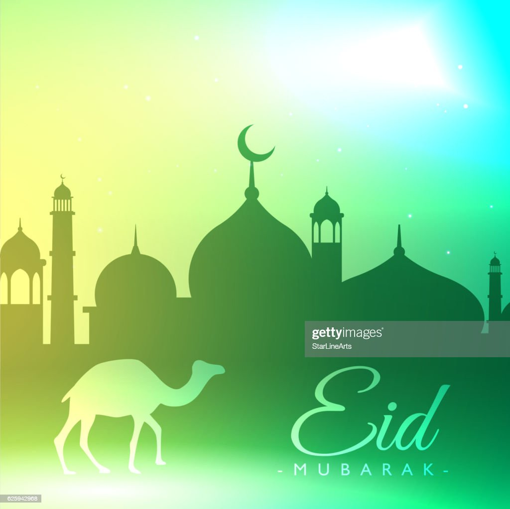 eid mubarak festival background greeting