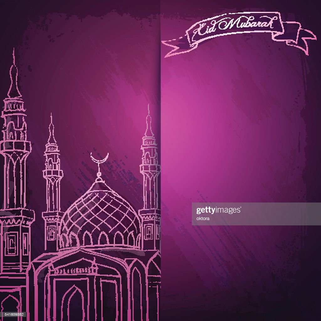 Eid mubarak greeting card and islamic banner background vector art eid mubarak greeting card and islamic banner background vector art kristyandbryce Choice Image