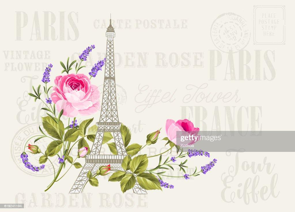 Eiffel tower simbol.