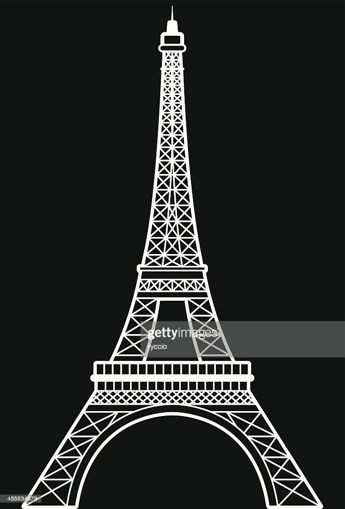 Eiffel tower vector vector art getty images eiffel tower vector vector art thecheapjerseys Gallery