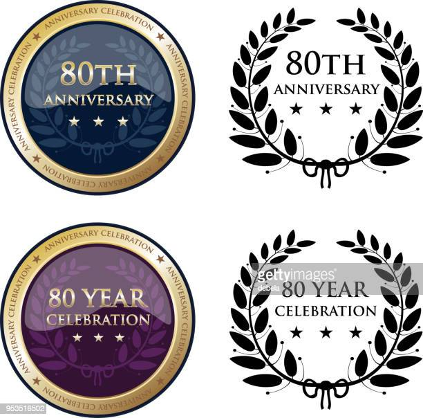 Eightieth Anniversary Celebration Gold Medals