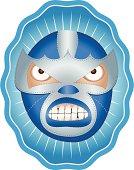 El Iceman Mexican Wrestler Mask
