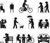 Elderly leisure activities