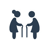 Elderly People Icon