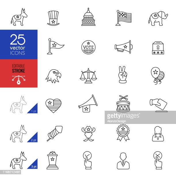 election and politics - government building stock illustrations