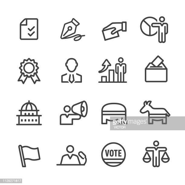 Election Icons - Line Series