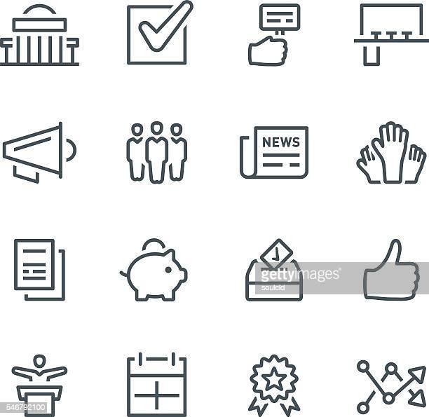 選挙アイコン - 地方庁舎点のイラスト素材/クリップアート素材/マンガ素材/アイコン素材