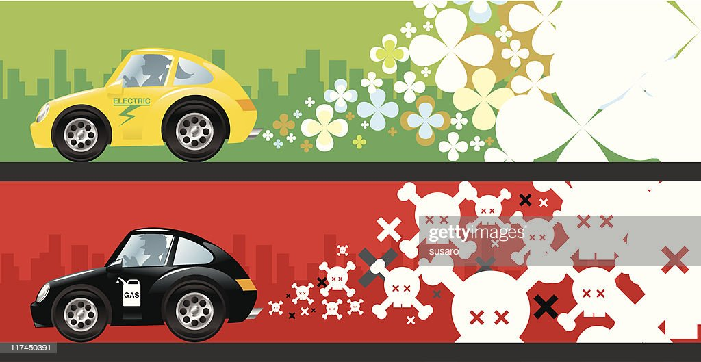 Electric and Gas Cars