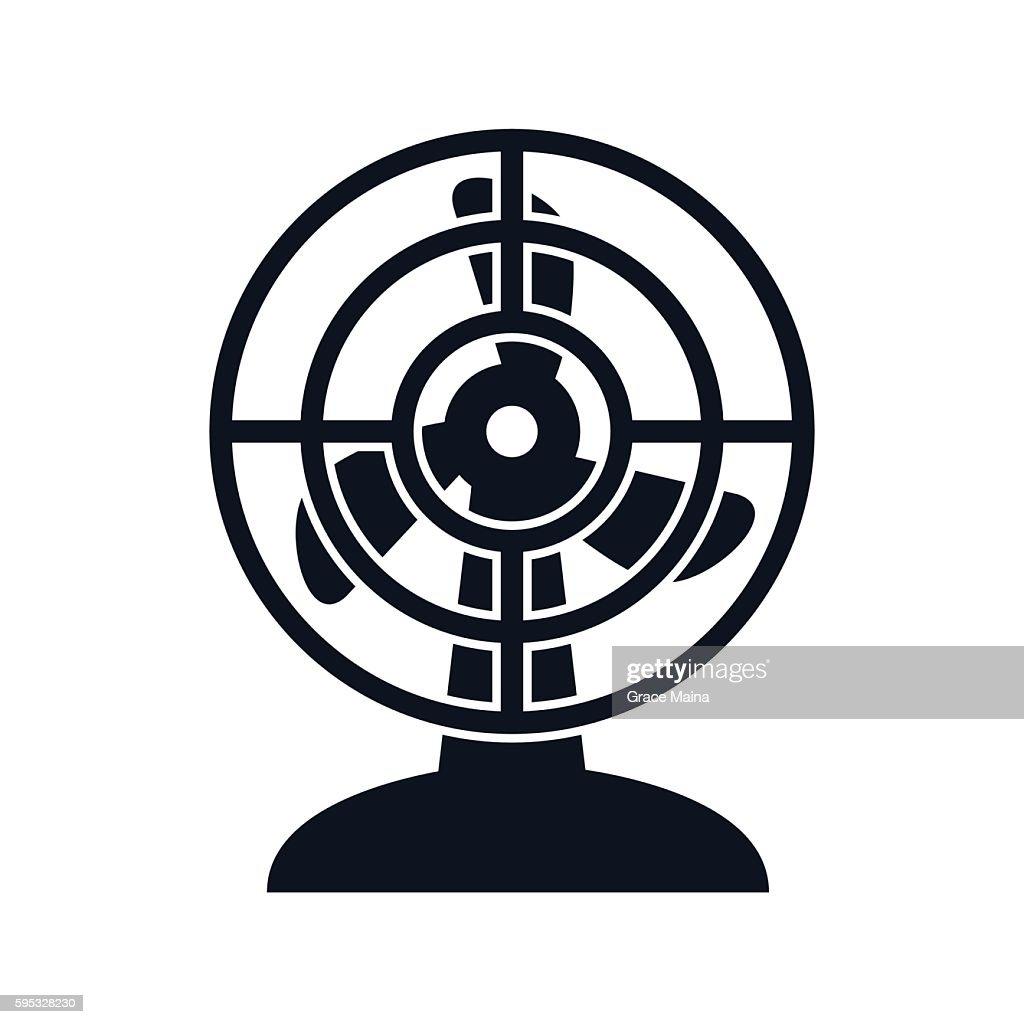 Electric Fan Illustration Vector Vektorgrafik Getty Images