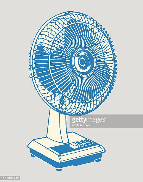 electric fan - electric fan stock illustrations