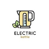 Electric kettle modern Simple Icon