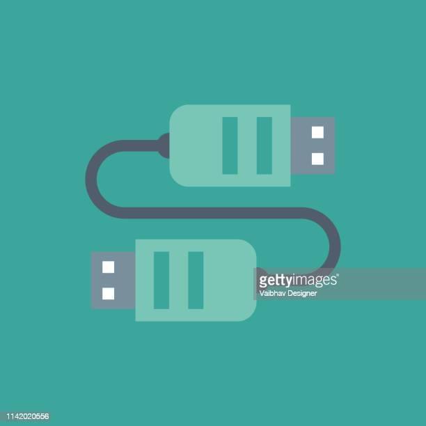 electric plug icon. vector illustration. - adaptor stock illustrations