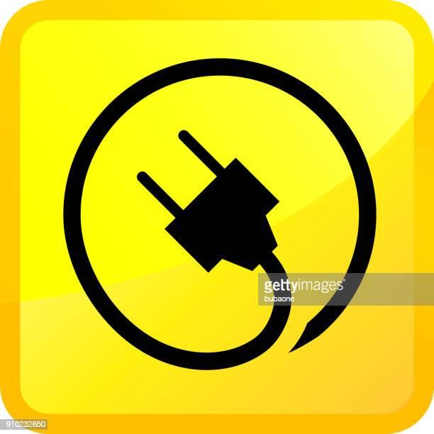 ilustraciones, imágenes clip art, dibujos animados e iconos de stock de enchufe eléctrico. - enchufe