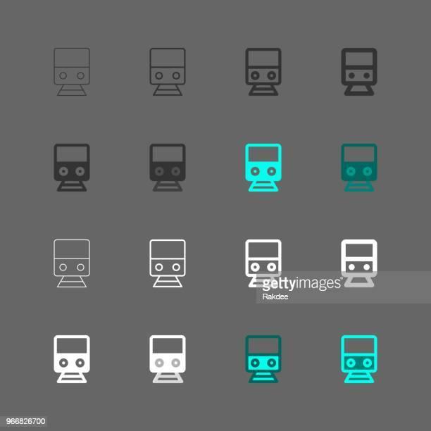 Electric Train Icon - Multi Series