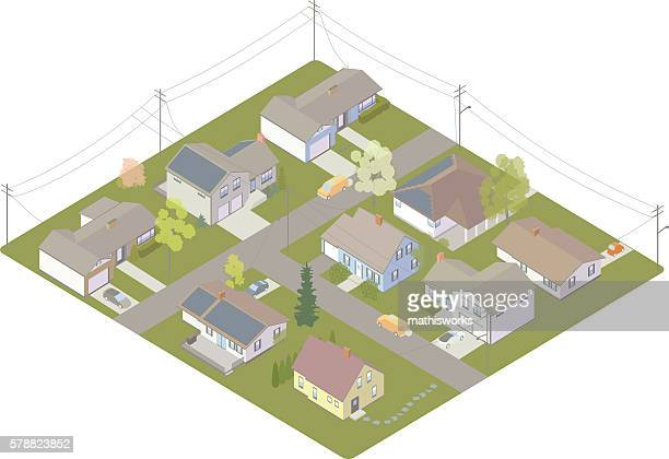 electric utility customers - power outage stock illustrations, clip art, cartoons, & icons