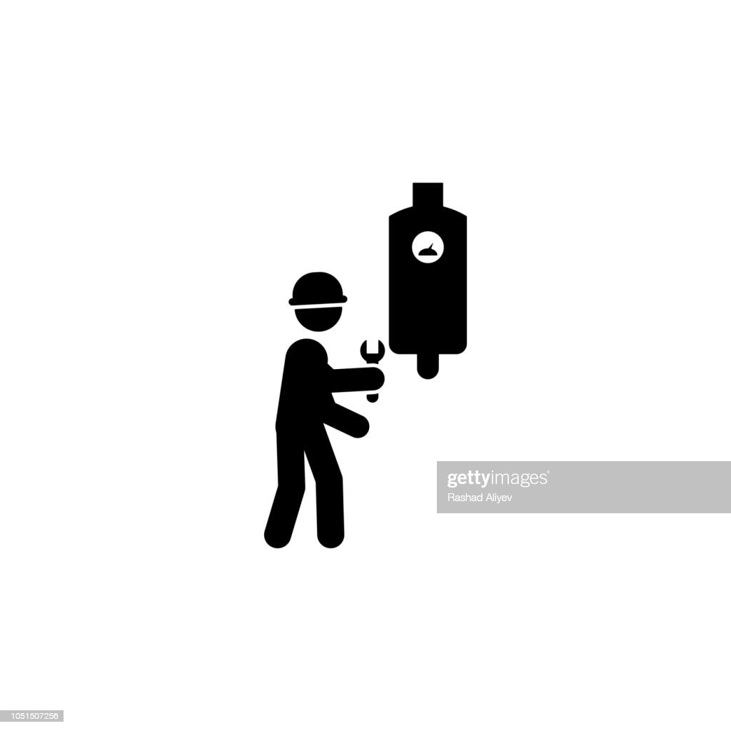 electrical, fixing worker icon. Element of construction worker for mobile concept and web apps. Detailed electrical, fixing icon can be used for web and mobile