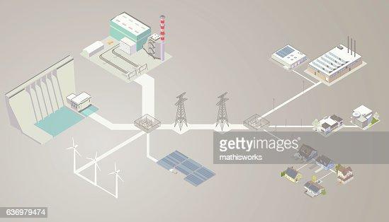 Electrical Transmission Diagram High