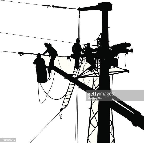 60 Top Electricity Pylon Stock Illustrations Clip Art