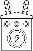 Electrical Transformer Clip Art Download 185 clip arts