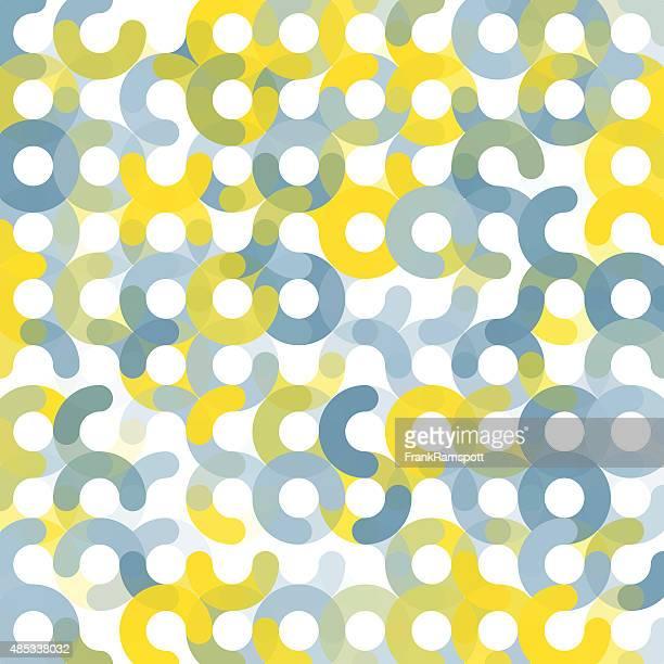 Electricity geometrischen Kreis Muster Square