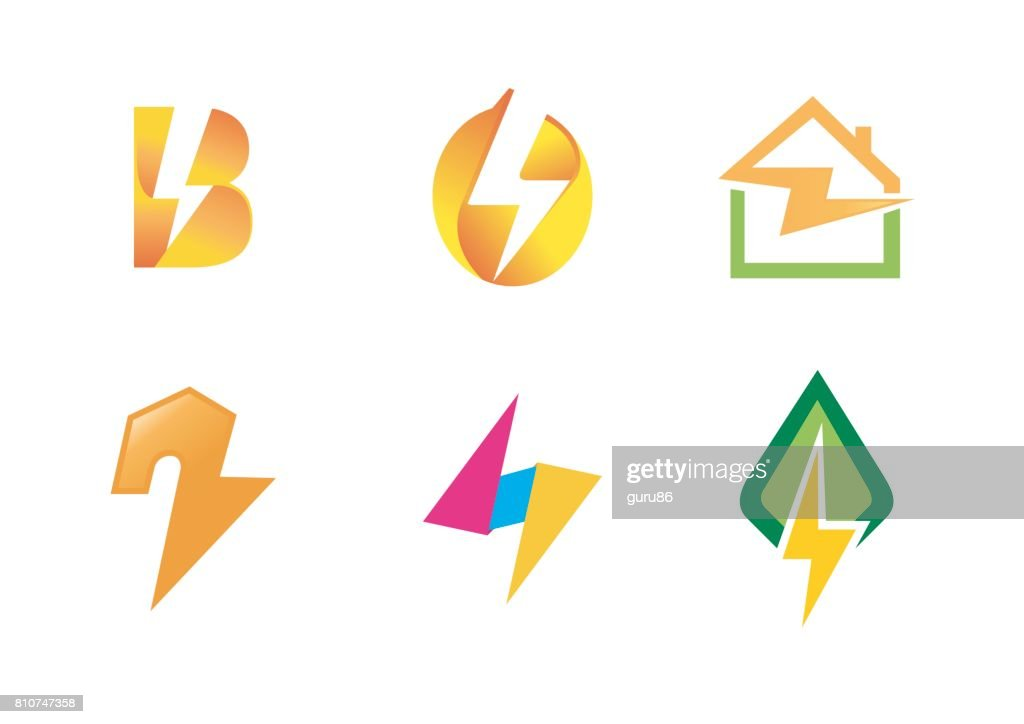 Electricity Symbol Creative Design